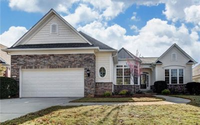 Delightful Cumberland Hall Home w/ upgraded landscaping & lower level!